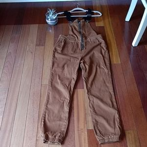 Wild fable overalls. Brown. XS